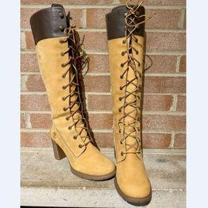 Timberland Women's Allington Heel Boots Women's 7